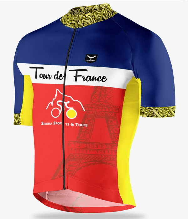 Tour de France special cycling jersey