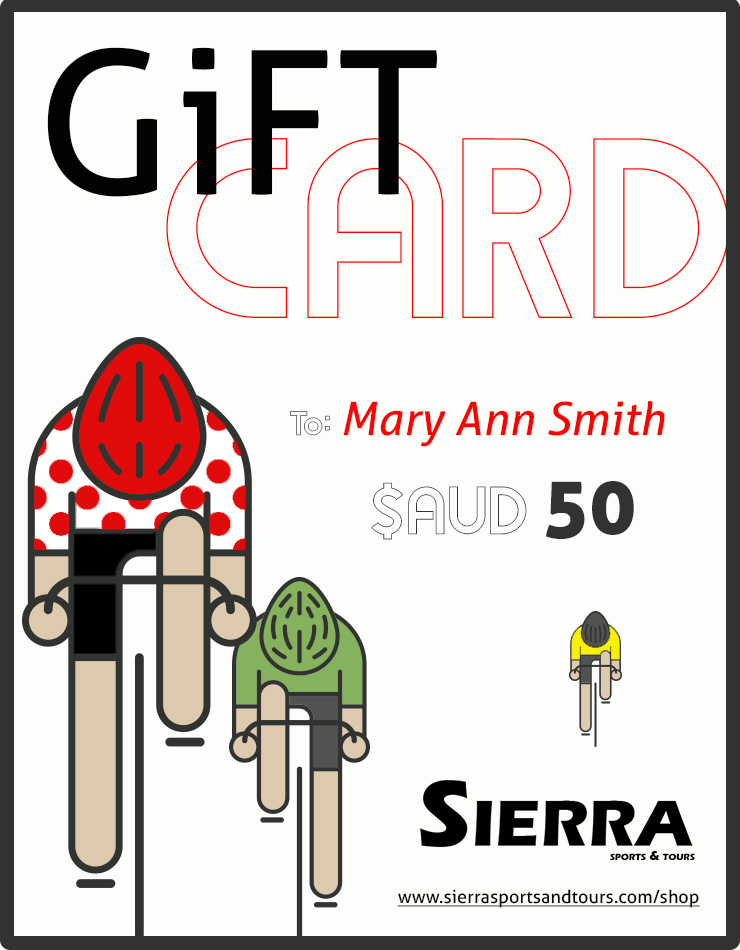Cycling Clothing Gift Card