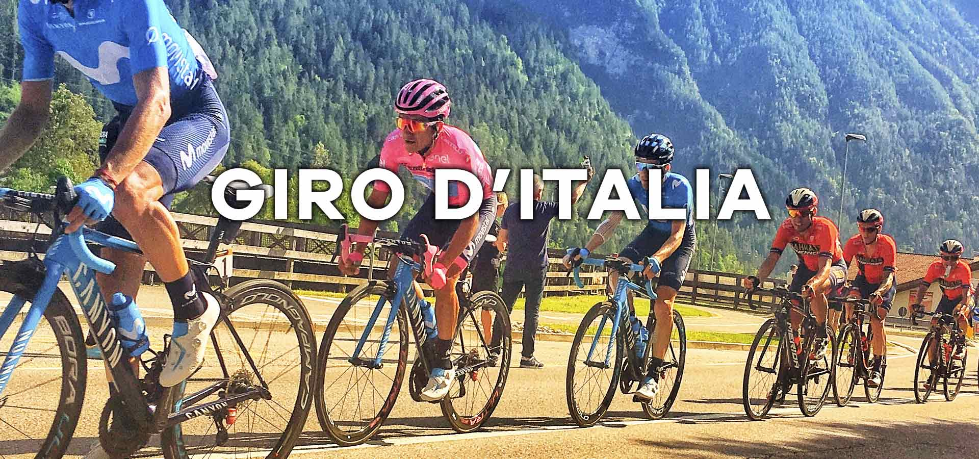 Cycling at the Giro d'Italia professional race