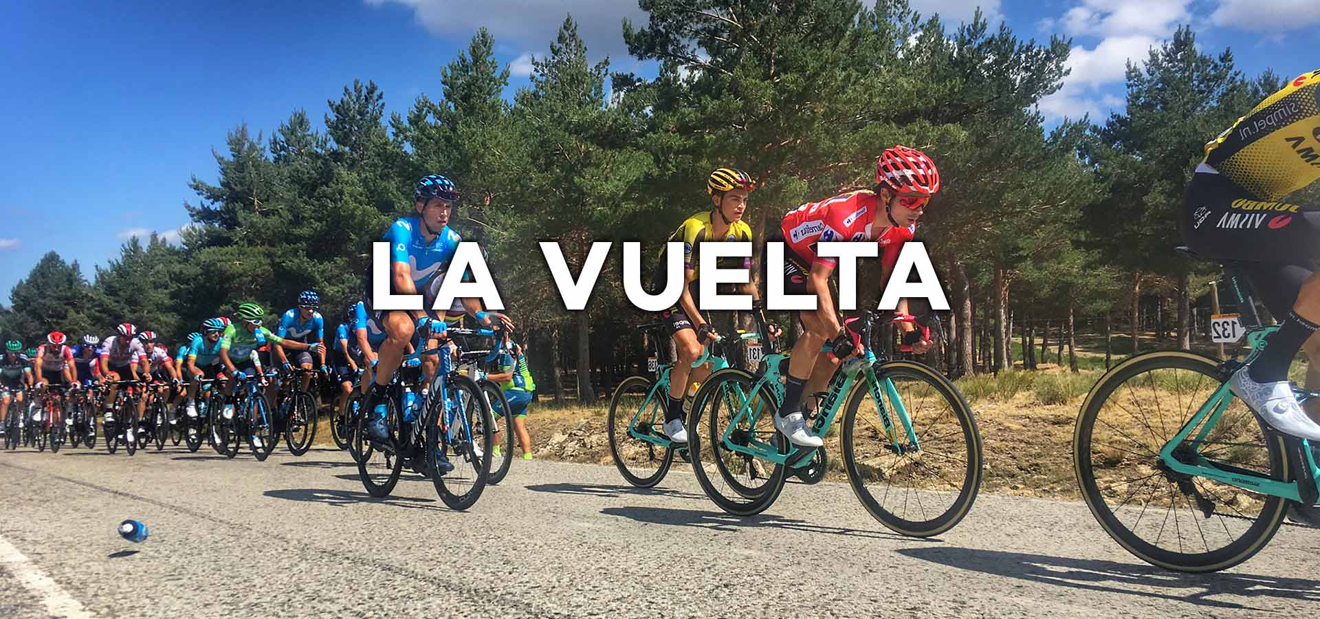 Cycling La Vuelta also known as the Tour of Spain