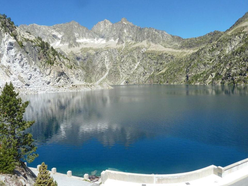 The reservoir Cap d'Long located in the French Pyrenees