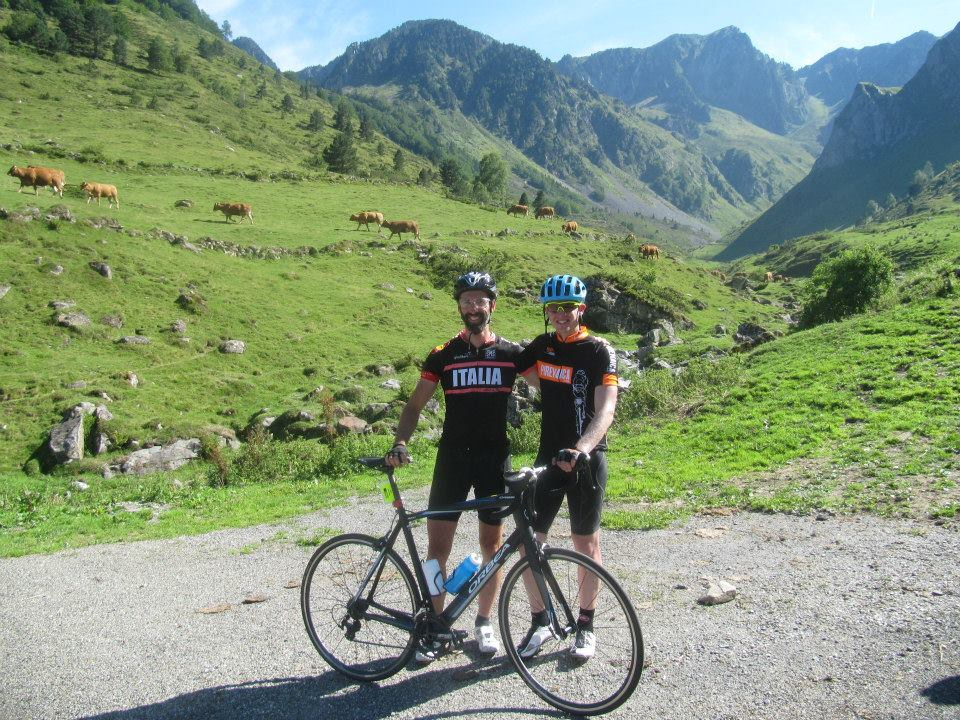 Road cycling in the French Pyrenees
