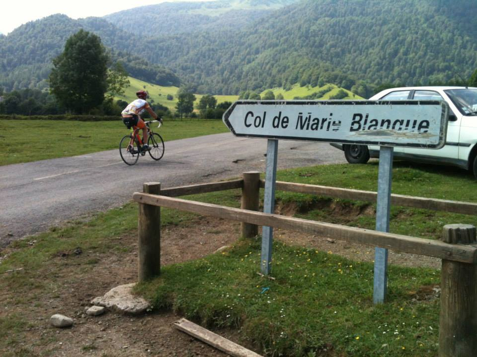 Time to take on the mythical Col de Marie Blanque in the French Pyrenees