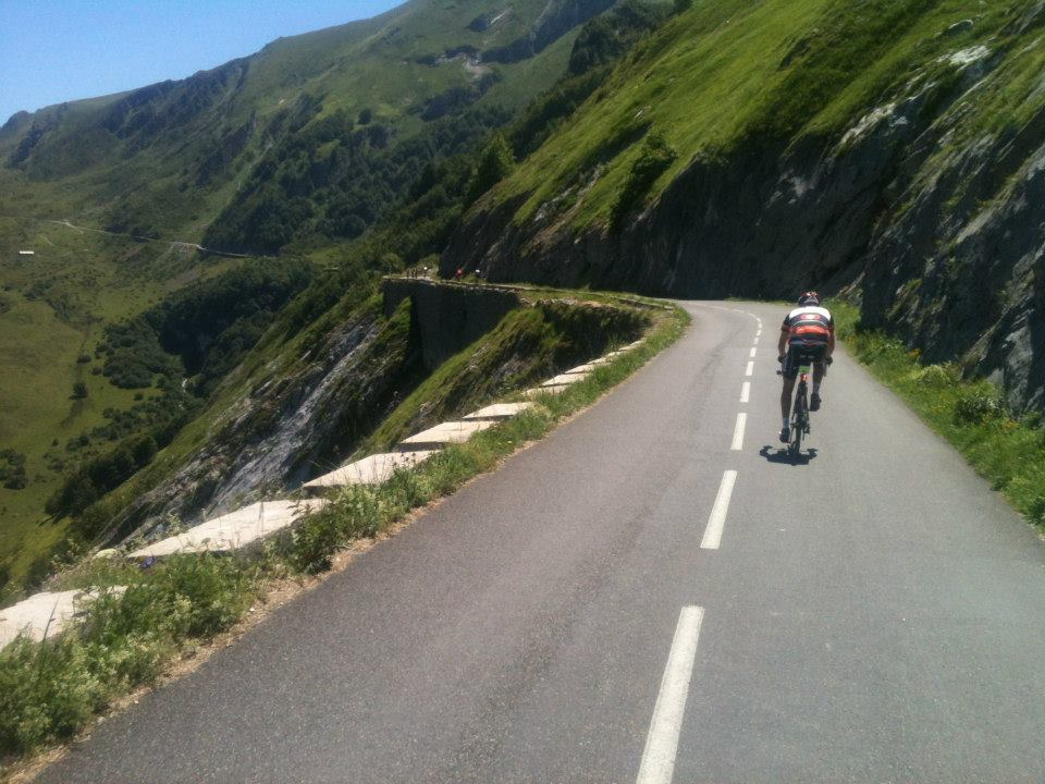 The balcony road between Col d'Aubisque and Col du Soulor