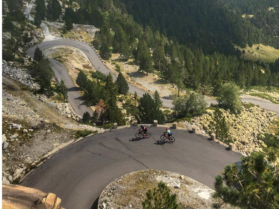 As good as it gets for switchbacks and road cycling in the French Pyrenees